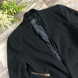 Zara Basic Black Blazer Ladies Small